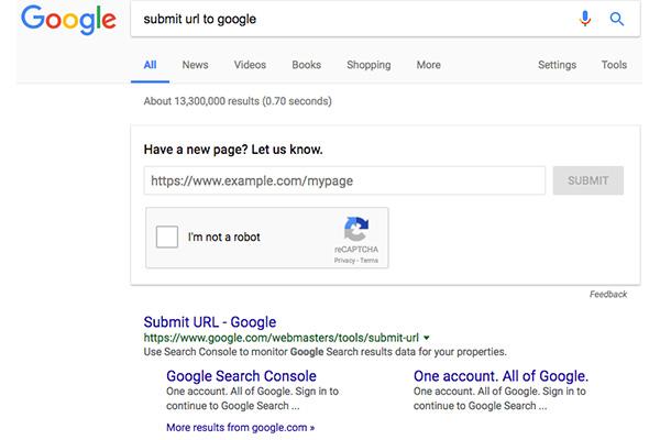 ความสำคัญของการ Submit url ที่คนทำ seo ควรรู้
